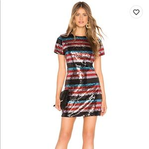 NWT Revolve Lovers + Friends Sequin Dress Small